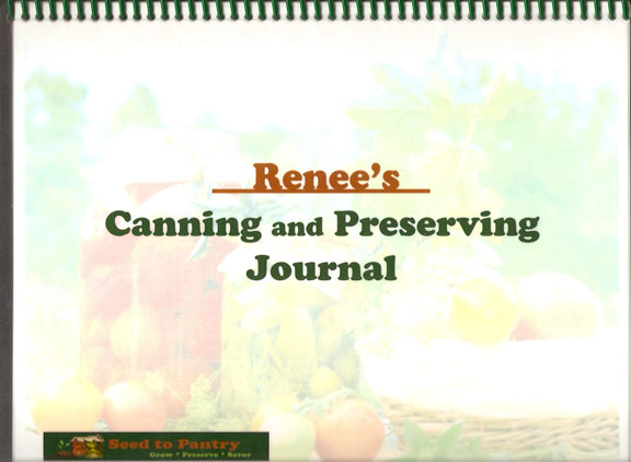 what a canning journal can do for you – 3 reasons to keep a canning journal