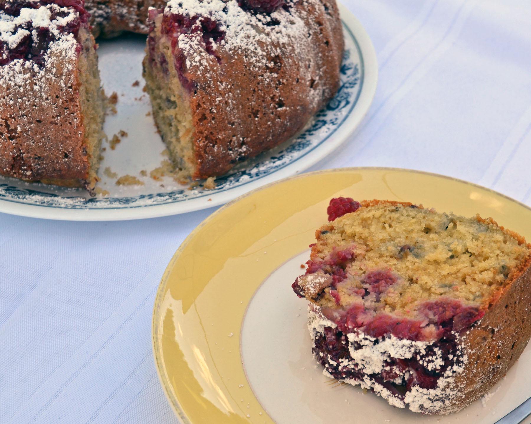 Raspberry-Almond Coffee Cake | Seed to Pantry