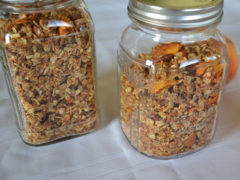 Homemade Peach Granola
